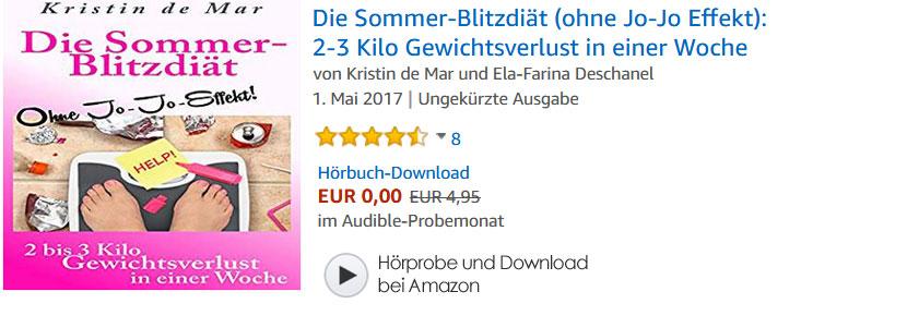 Hörbuch: Sommer Blitz Diät